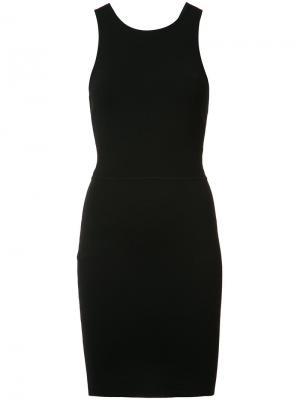 Облегающее платье Ritter Elizabeth And James. Цвет: чёрный