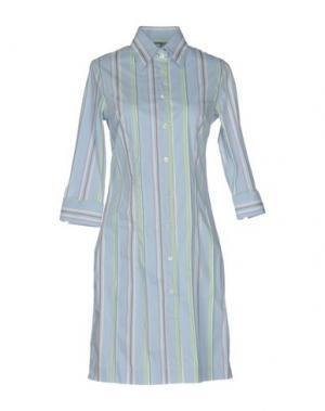 Короткое платье CALIBAN. Цвет: небесно-голубой