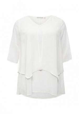 Туника Emoi Size Plus. Цвет: белый