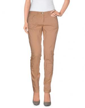Повседневные брюки L'AIR DE RIEN. Цвет: песочный