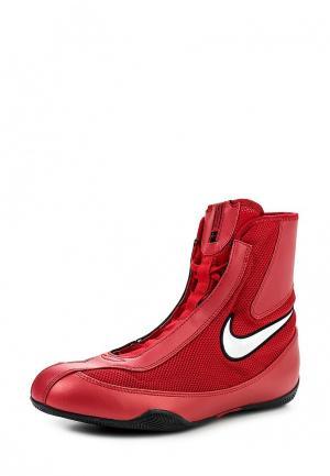Боксерки Nike. Цвет: бордовый