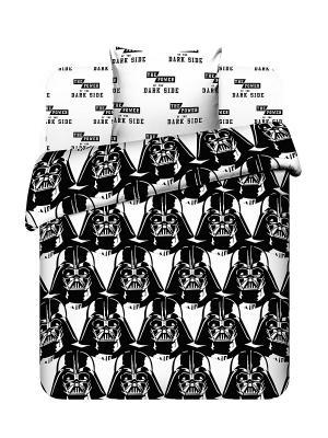 Комплект постельного белья Звездные войны Василек. Цвет: белый, черный