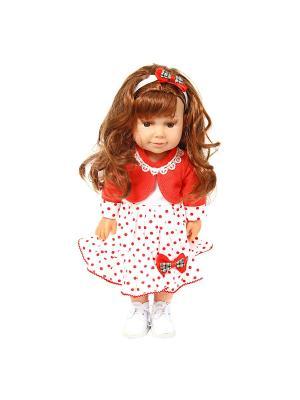Кукла Ника 37см. Lisa Jane. Цвет: черный, белый, красный