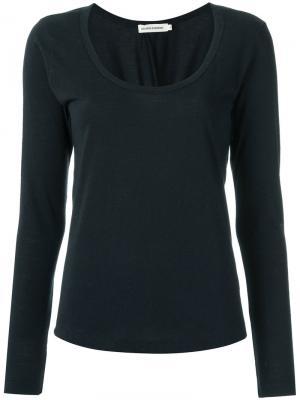 Round neck blouse Giuliana Romanno. Цвет: none