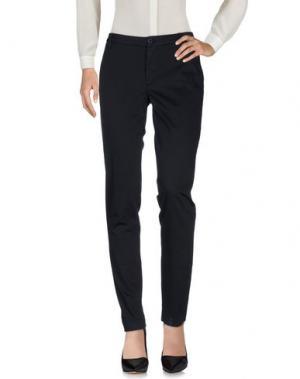 Повседневные брюки EUROPEAN CULTURE. Цвет: темно-синий