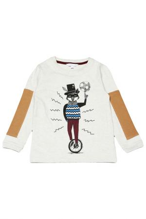 Футболка Little Marc Jacobs. Цвет: бежевый