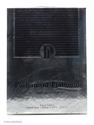 PARLIAMENT PLATINUM EDT 100 ML SPRAY (LOR) PARFUMS GENTY. Цвет: прозрачный
