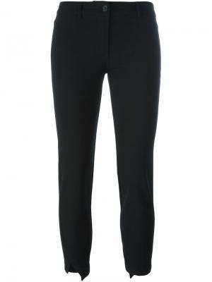 Укороченные брюки Ann Demeulemeester. Цвет: чёрный