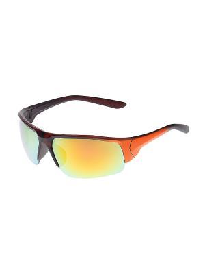 Очки солнцезащитные Infiniti. Цвет: фиолетовый, оранжевый, коричневый