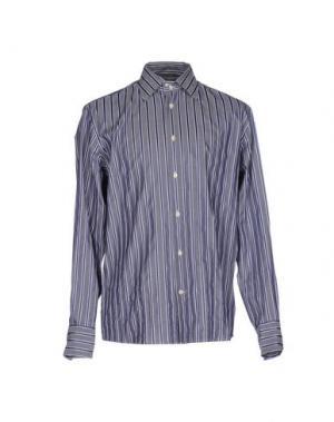 Pубашка FAÇONNABLE. Цвет: свинцово-серый