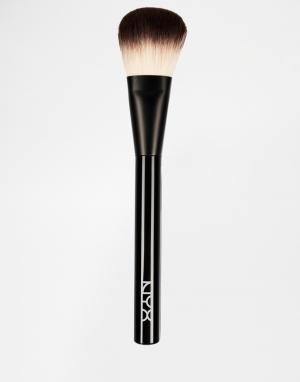 NYX Professional Makeup Кисть для пудры. Цвет: бесцветный