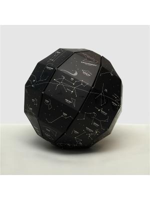 Светящийся глобус звездного неба Star Light Globe BADLAB. Цвет: черный