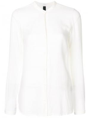 Рубашка с V-образным вырезом Poème Bohémien. Цвет: белый
