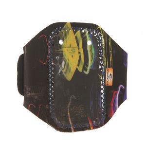 Чехол для iPhone  602 Black/Multi CajuBrasil. Цвет: мультиколор,черный