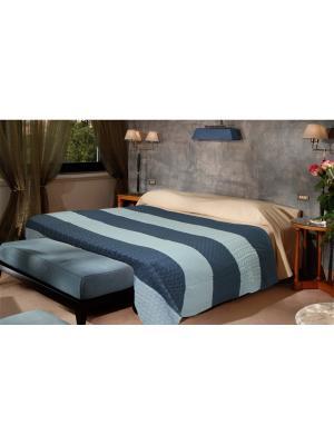 Плед Pigtail Color 1,5 сп. Buenas Noches. Цвет: голубой, синий