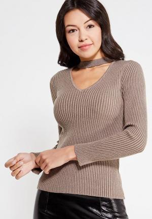 Пуловер Only. Цвет: бежевый
