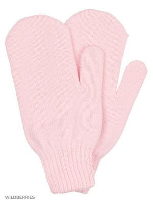 Варежки Vittorio Richi. Цвет: розовый
