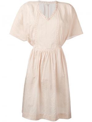 Платье Havane Bellerose. Цвет: телесный