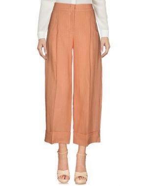 Повседневные брюки SIYU. Цвет: оранжевый
