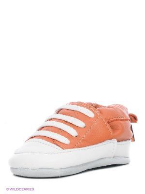 Пинетки Shooshoos. Цвет: оранжевый