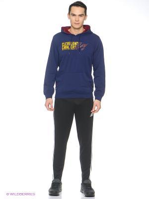 Худи Adidas. Цвет: синий, желтый