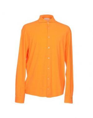 Pубашка GRAN SASSO. Цвет: оранжевый