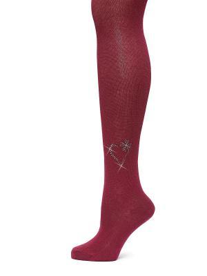 Колготки LARMINI. Цвет: бордовый