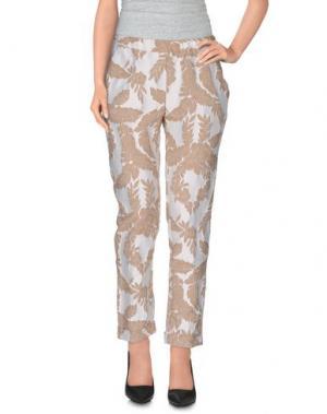 Повседневные брюки SHIRTAPORTER. Цвет: белый