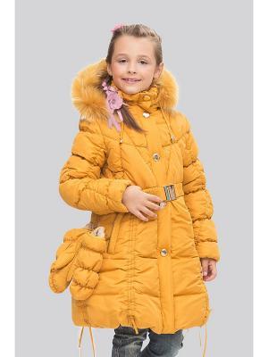 Пальто Steen Age. Цвет: желтый