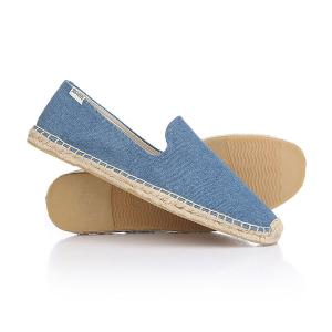 Эспадрильи  Smoking Slipper Dark Blue Soludos. Цвет: синий