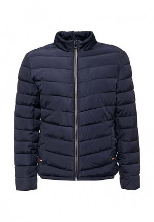 Куртка утепленная Deblasio. Цвет: синий