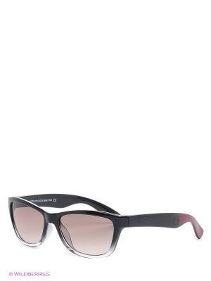 Солнцезащитные очки BB 504S R1 United Colors of Benetton. Цвет: прозрачный, черный