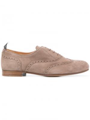Lace-up oxford shoes Churchs Church's. Цвет: телесный