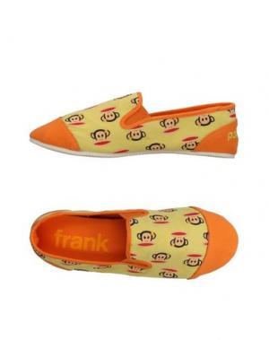 Низкие кеды и кроссовки PAUL FRANK. Цвет: желтый