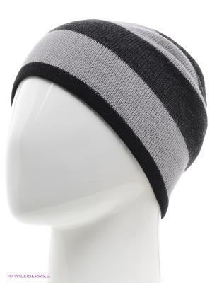 Шапка Trend. Цвет: черный, серый