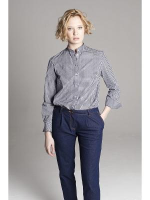 Рубашка ЛитанияMIR. Цвет: синий