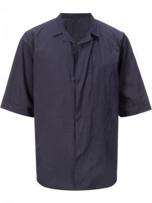 Рубашка Wallet Teatora. Цвет: синий