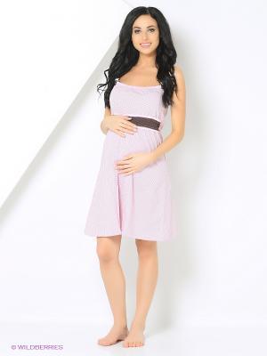 Ночная сорочка Mare Bella. Цвет: розовый