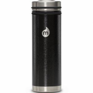 Термобутылка Для Воды MIZU. Цвет: black hammer paint w v lid