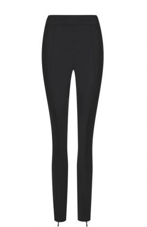 Однотонные брюки с разрезами на молниях The Row. Цвет: черный