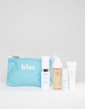 Bliss Набор Triple Oxygen Ready Set Glow. Цвет: бесцветный
