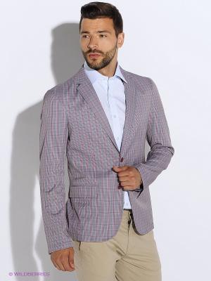 Пиджак BAZIONI. Цвет: серый