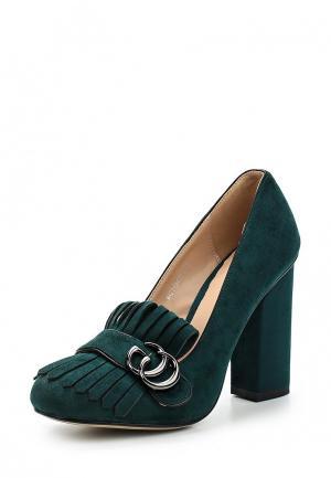 Туфли Bona Dea. Цвет: зеленый