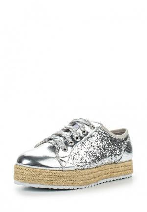 Ботинки MTNG. Цвет: серебряный