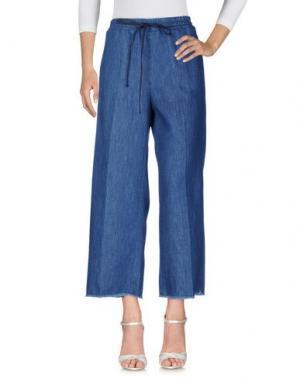 Джинсовые брюки .TESSA. Цвет: синий