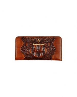 Бумажник MARINO ORLANDI. Цвет: коричневый