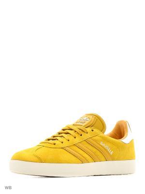 Кеды муж. GAZELLE  STNOYE/STNOYE/GOLDMT Adidas. Цвет: золотистый
