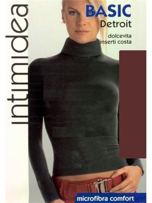 Водолазка Intimidea. Цвет: коричневый, темно-коричневый