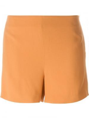 Шорты Nothing Chalayan. Цвет: жёлтый и оранжевый