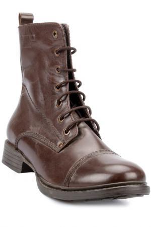 Ботинки PEPERONI. Цвет: коричневый